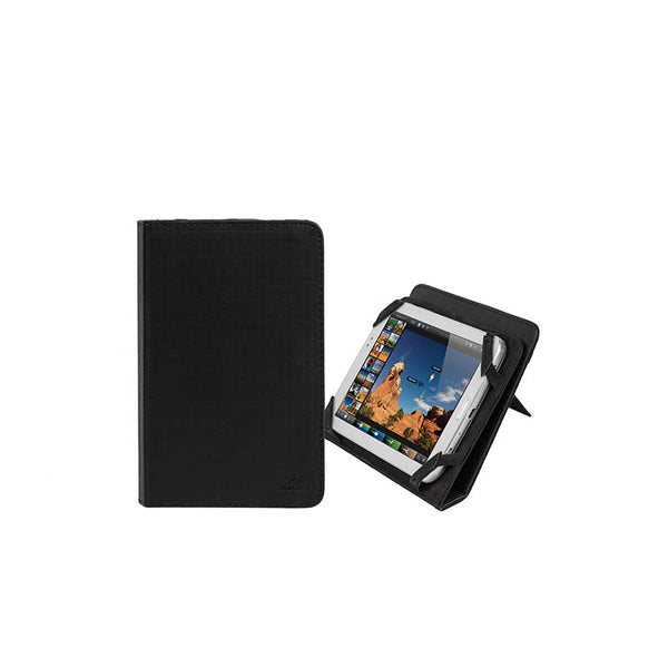 RivaCase 3212 Black Kick-Stand Tablet Folio 7""