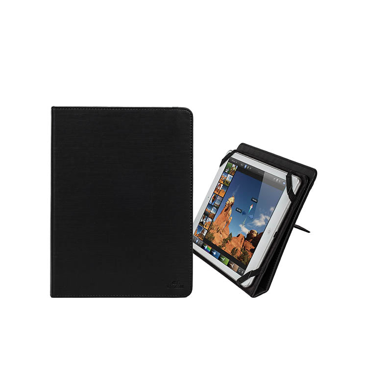 RivaCase 3217 Black Kick-Stand Tablet Folio 10.1