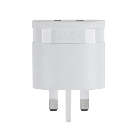 Rivacase,Rivapower,VA4422 WD1,Wall Charger,UK Plug,White,Micro USB Cable,Cables and Connectors