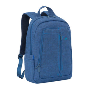 "RivaCase,7560,Blue,Laptop,Canvas,Backpack,15.6""/6"