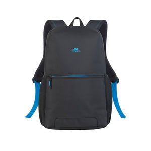 RivaCase 8067 Black Full Size Laptop Backpack 15.6""