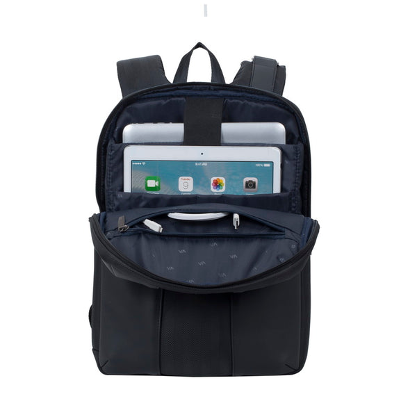 RivaCase 8125 Black Laptop Business Backpack 14""