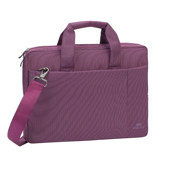 "RivaCase 8221 Laptop Bag 13.3"" Black/Blue/Purple"
