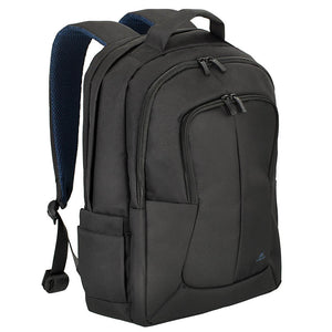 RivaCase 8460 Black Bulker Laptop Backpack 17""