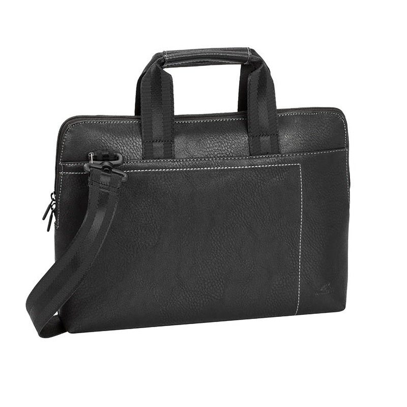 RivaCase 8920 (PU) Black Slim Laptop Bag 13.3""