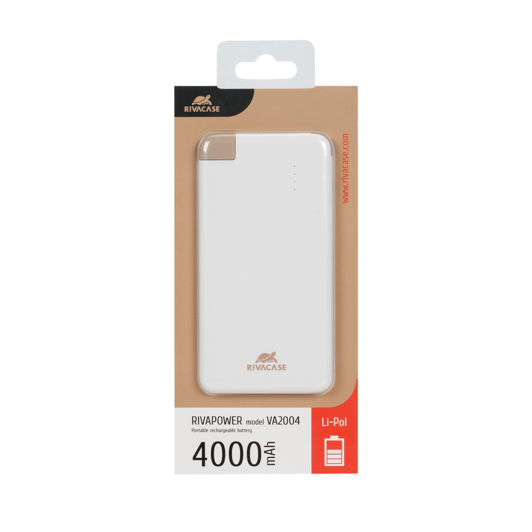 RIVAPOWER VA 2004 (4000mAh) portable rechargeable battery /60 VA2004