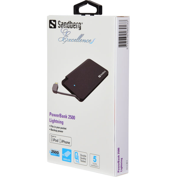 Sandberg Excellence PowerBank Lightning 480-13