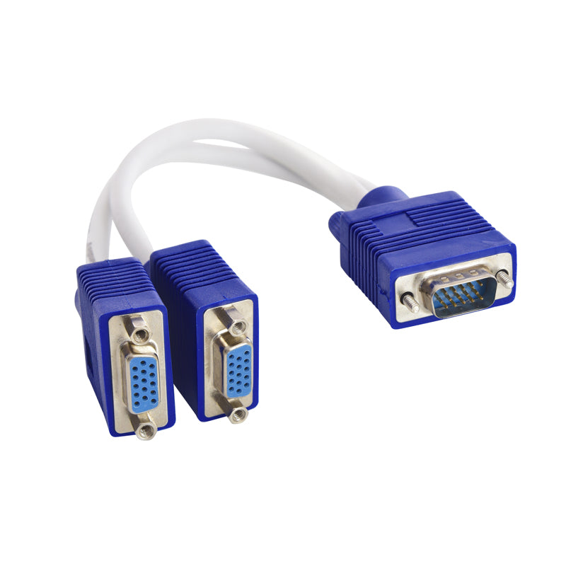 Sandberg,VGA Y-splitter,1 to 2,Passive,503-74,Computer Accessories