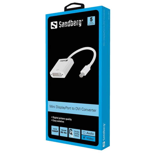 Sandberg Adapter Mini DisplayPort DVI