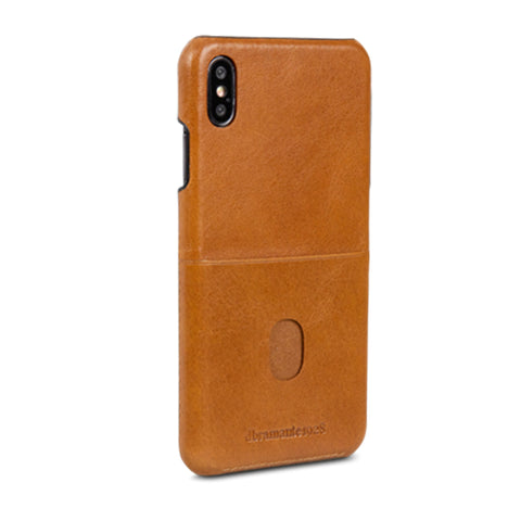 dbramante1928 Tune cc iPhone Cover Xs Max Tan - Full Grain Leather
