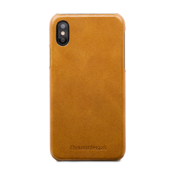 dbramante1928 Tune iPhone Cover X/Xs Tan - Full Grain Leather
