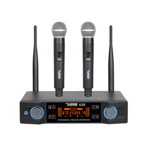 Platinum Karaoke Wireless Professional Microphone -U20