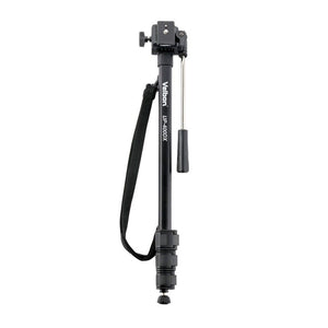 Velbon Monopod UP400DX,Lightweight camcorder support for easy transport and storage