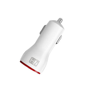 HeatZ 1 USB Port + 1 PD PORT Smart Fast Car Charger with Type C Cable (3.0A)
