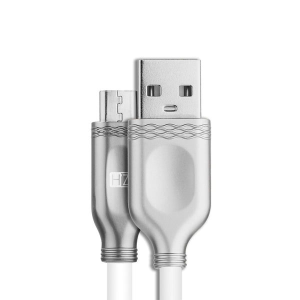 HeatZ Metallic Smart Fast Micro USB Cable 1M