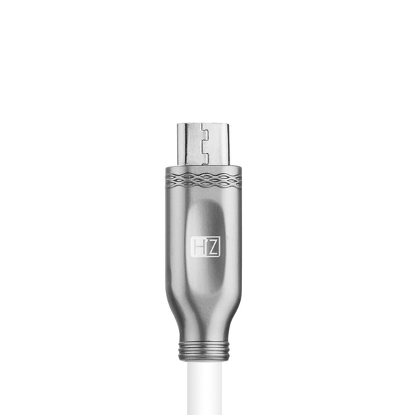 HeatZ Metallic Smart Fast Micro USB Cable 2M