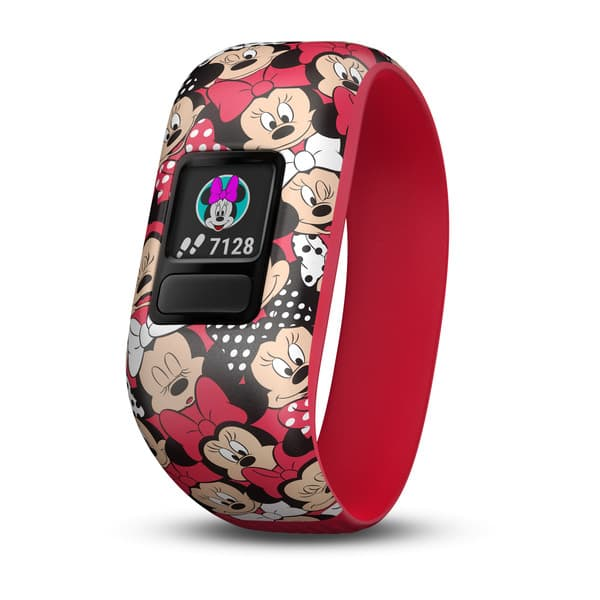 Garmin-VIVOFIT JUNIOR 2 DISNEY MINNIE MOUSE STRETCHY  BAND
