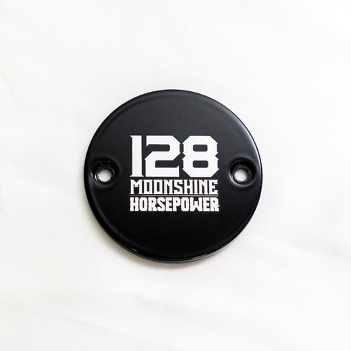 MHP-2128 M8 Points Cover, 128 Logo, Gloss Black