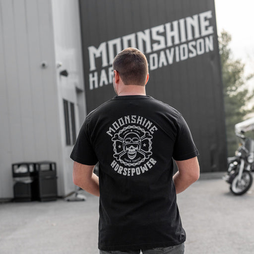 MHP Chain & Skull Men's Short Sleeve Shirt