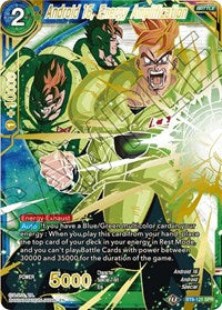 Android 16, Energy Amplification (SPR) [BT8-121] | Gauntlet Food and Games Angola