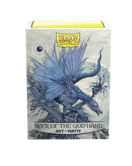 Dragon Shield Art Sleeve -  'Seer of the God Hand' 100ct | Gauntlet Food and Games Angola