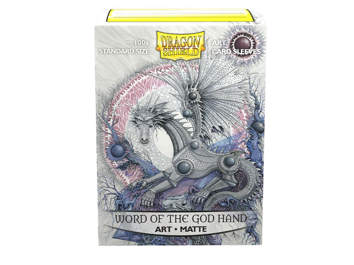 Dragon Shield Art Sleeve - 'Word of the God Hand' 100ct | Gauntlet Food and Games Angola