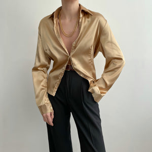 Vintage Gold Blouse
