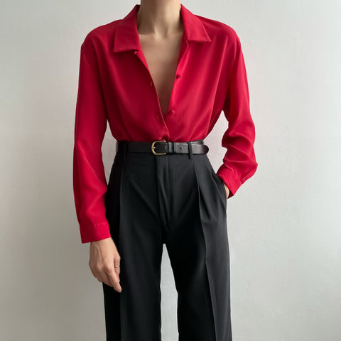 Vintage Fluid Blouse