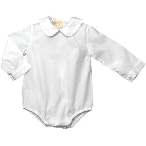 Boy White Long Sleeve Bubble AYR 2268 L BOY