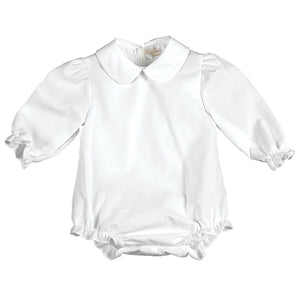 Girl White Long Sleeve Bubble AYR 2268 L GIRL