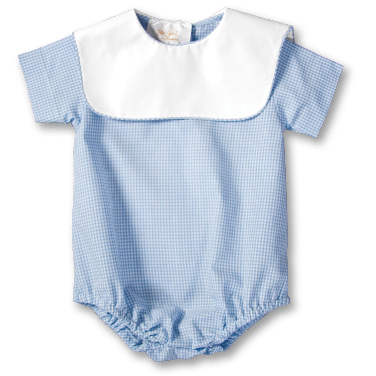 Light Blue Gingham Bubble AYR 2489 BY