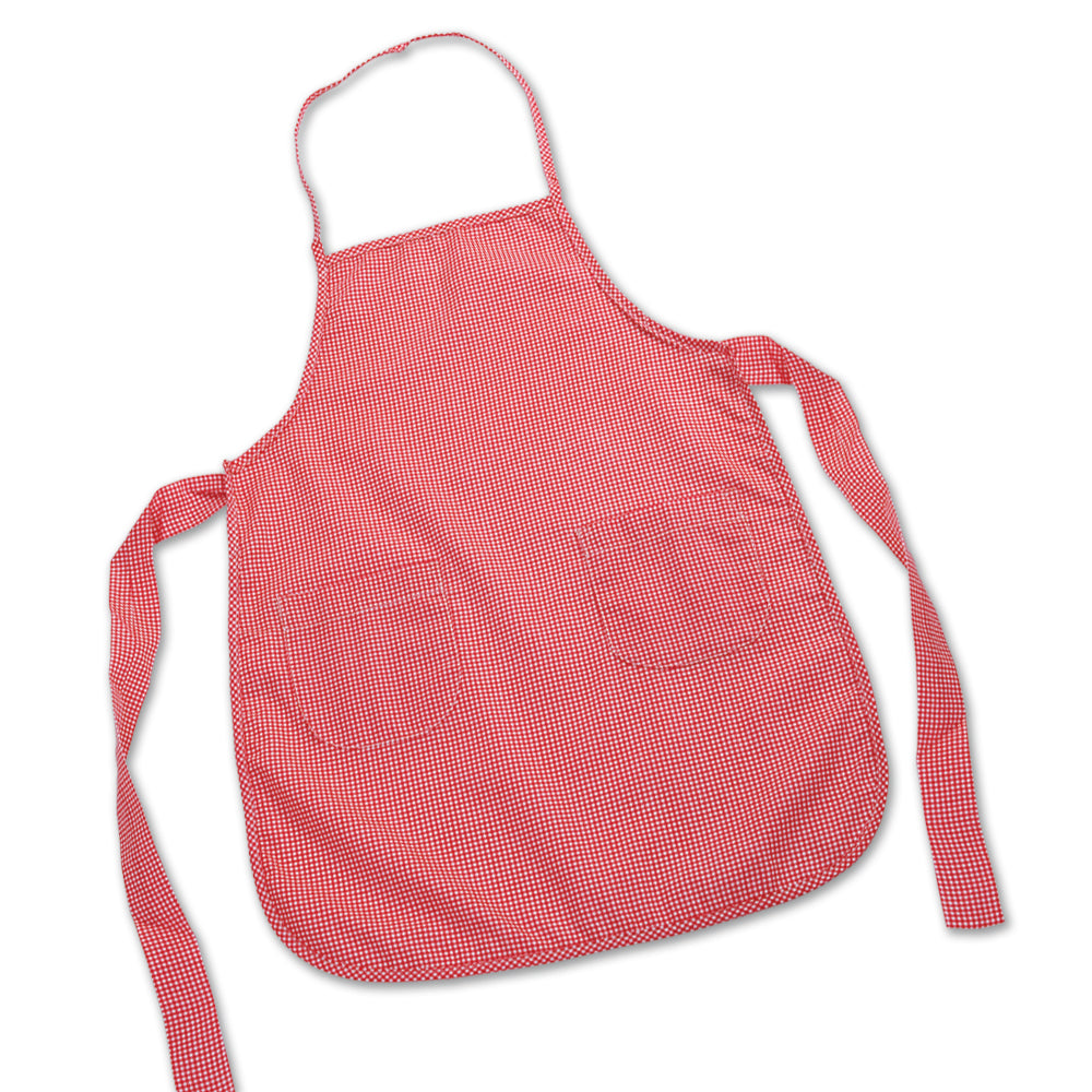 Child Gingham Apron 2537