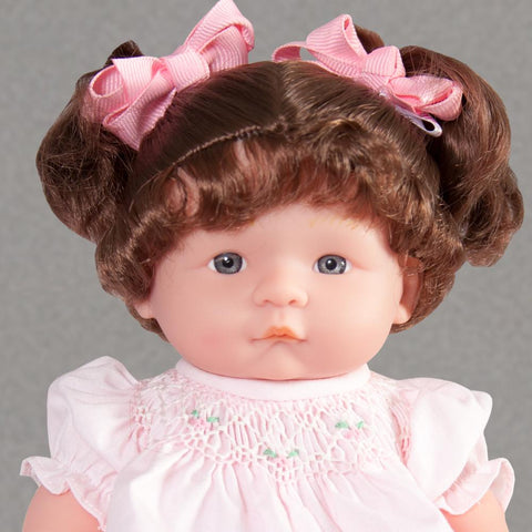 "Maggie Brunette & Blue Eyes 10"" Doll Predressed"
