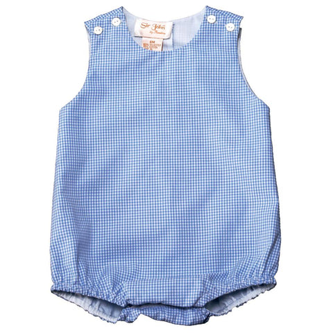 Light Blue Gingham Bubble AYR 3643 B