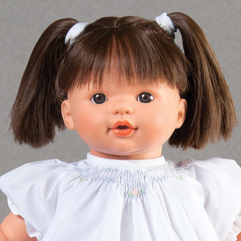"Megan Brunette & Brown Eyes Naked 15"" Doll 38000 BR/BR"