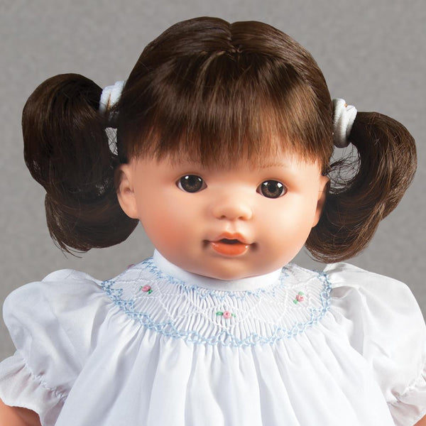 "Sarah Brunette & Brown Eyes Naked 15"" Doll 38001 BR/BR"
