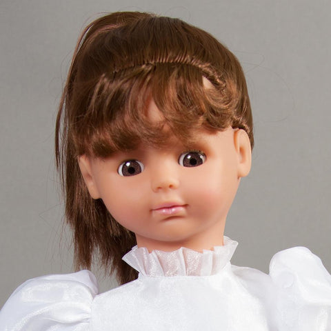 "Annie Brown Eye Naked 19"" Doll 43000 BR/BR"