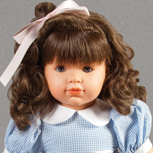 "Madison Brown Eye Brunette 18"" Naked Doll 45000 BR/BR"