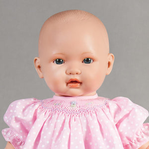 "Chloe Blue Eye Bald 18"" Naked Baby Doll 46000 BL"