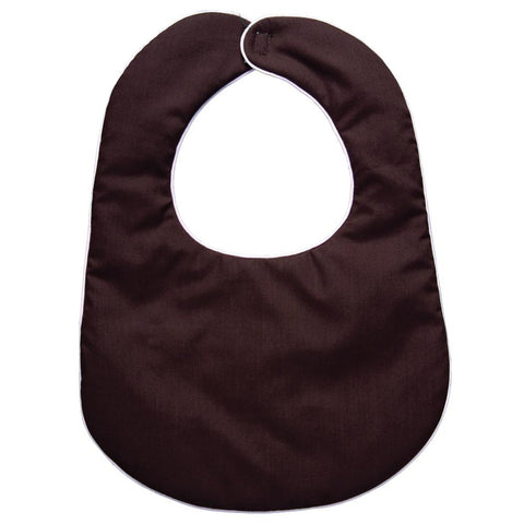 Dark Brown with Pink Trim Bib 13F AYRD 4874