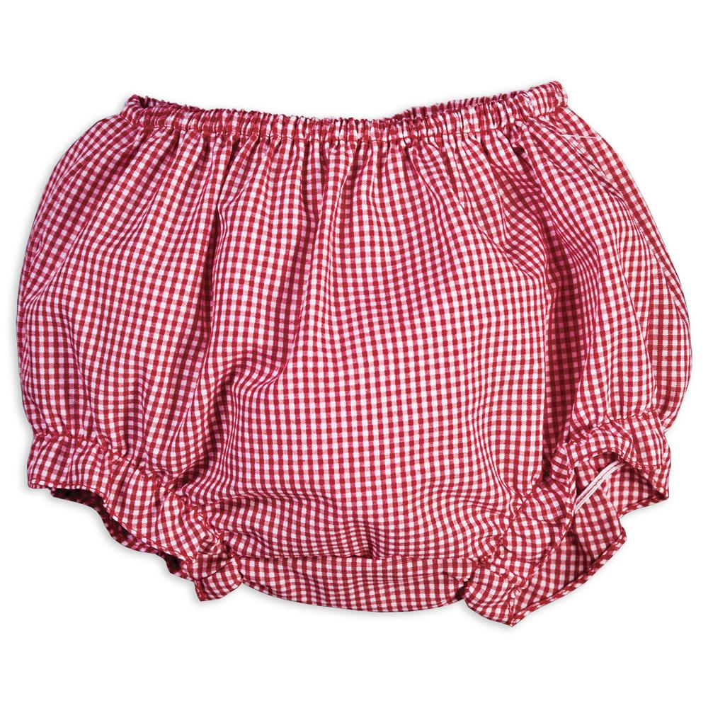 Red Gingham Girl Diaper Cover 16SP 5780 DCG RD