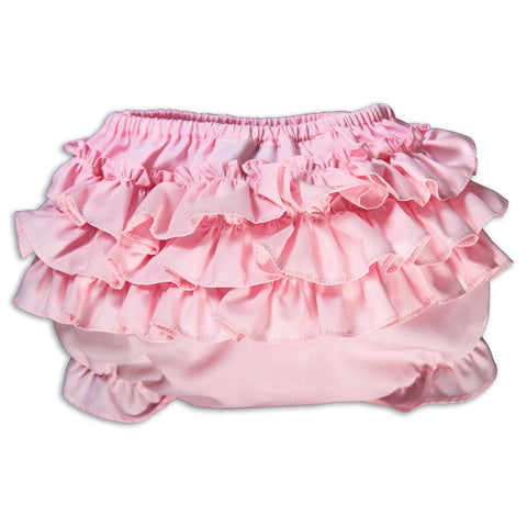 Pink Ruffled Diaper Cover AYR 16SP 5787PK