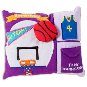 Basketball Toothfairy Pillow 5809