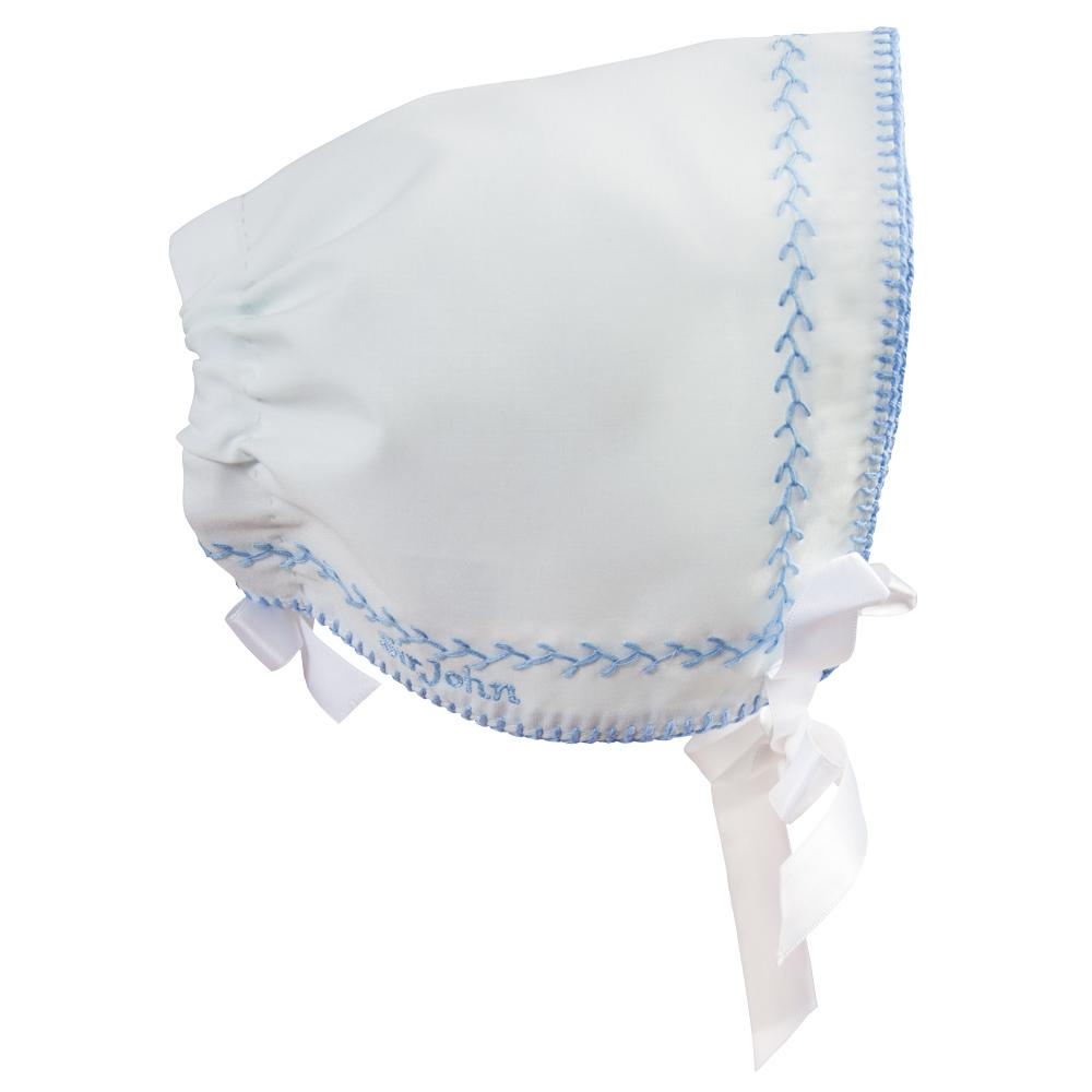 Charles Blue Hankie Bonnet 17SP 6114
