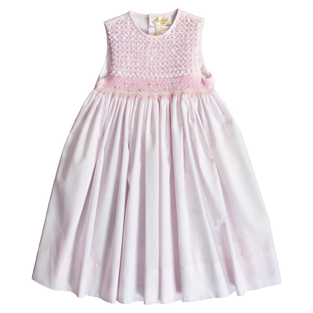 Pink Popcorn English Smocked Sundress 20SU 6703 SD