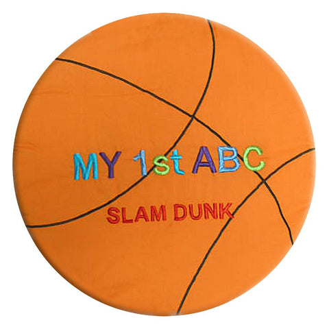 My 1st ABC Slam Dunk Basketball Playbag 7255