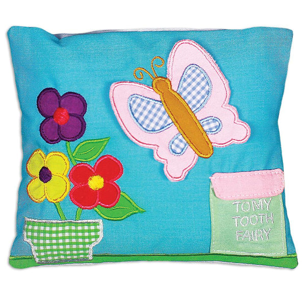Butterfly Garden Toothfairy Pillow 7265 TF