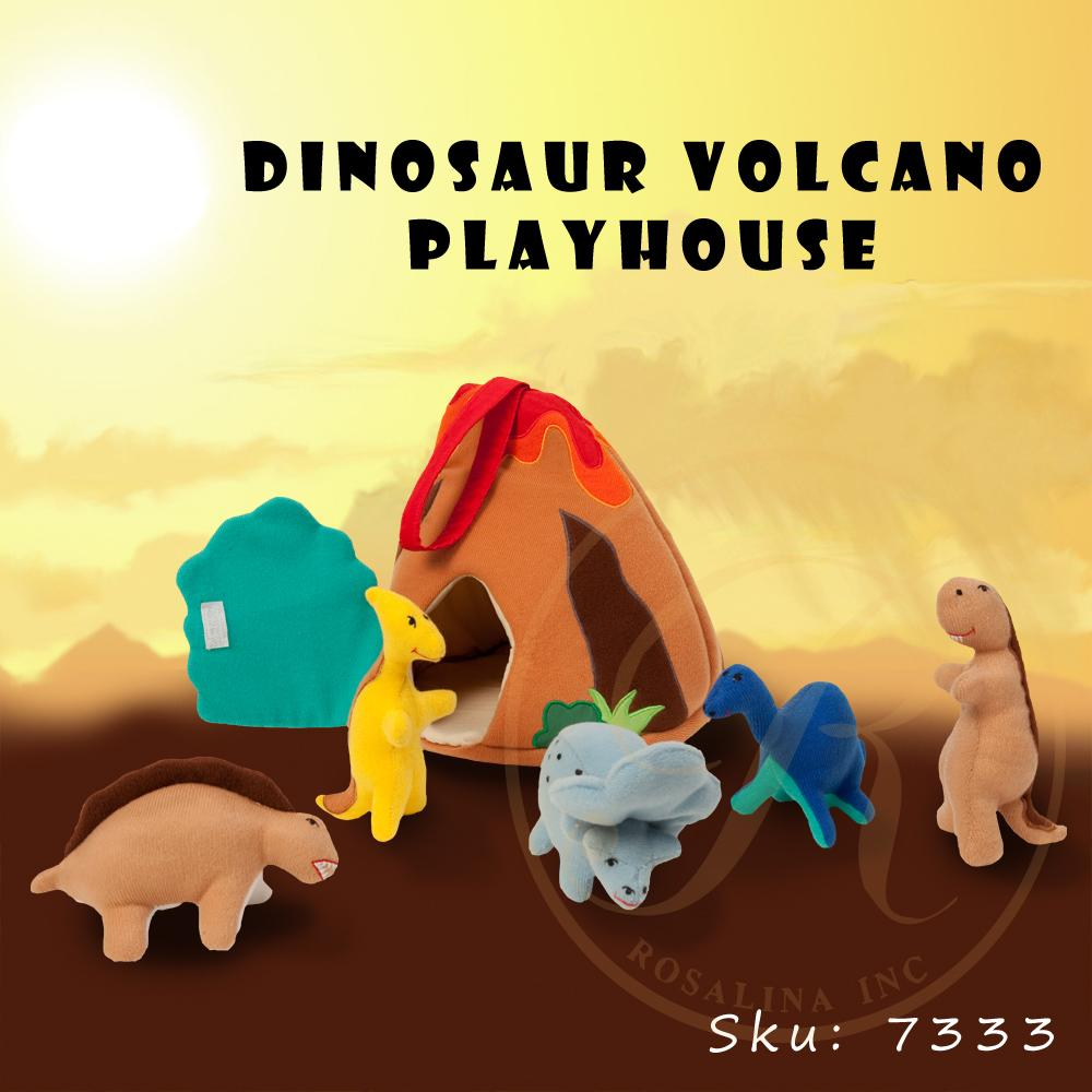 Dinosaur Volcano Playhouse 7333