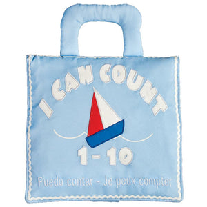 I Can Count Blue Trilingual Playbook 7521 BL