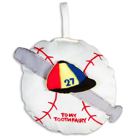 Baseball Toothfairy Pillow 7545 TF
